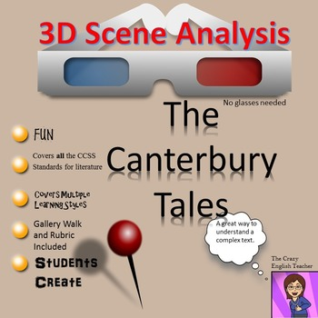 The Canterbury Tales: 3D Scene Analysis Project: Standards Based