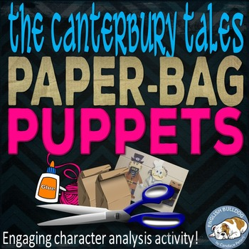 The Canterbury Tales Prologue Paper Bag Puppets