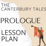 "The Canterbury Tales ""The Prologue"" Lesson Plan with PowerPoint"
