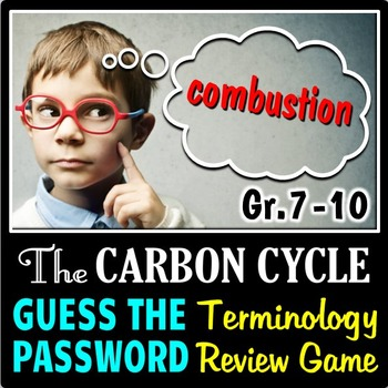 The Carbon Cycle - Guess the Password Terminology Review G