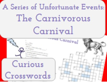 The Carnivorous Carnival- Worksheet (Book 9 Series of Unfo