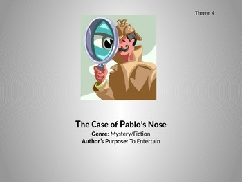 The Case of Pablo's Nose - Skills Power Point