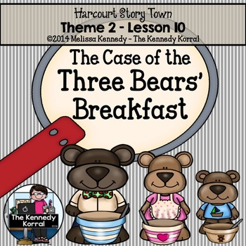 StoryTown Lesson 10 {The Case of the Three Bears' Breakfas