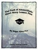 The Cask of Amontillado Edgar Allen Poe Lesson Plan, Worksheets