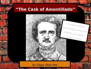 Edgar Allen Poe The Cask of Amontillado Text Analysis