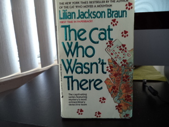 The Cat Who Wasn't There ISBN 0-515-11127-9