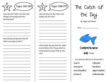 The Catch of the Day Trifold - Treasures 5th Grade Unit 3