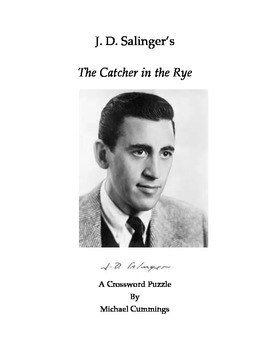 The Catcher in the Rye Crossword Puzzle