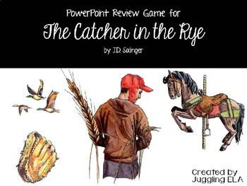 The Catcher in the Rye PowerPoint Review Game