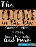 The Catcher in the Rye Quote Studies and Reading Quizzes w