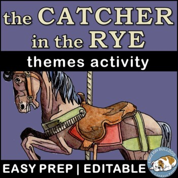 The Catcher in the Rye Themes Textual Analysis Activity