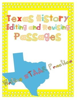 The Cattle Boom Revising and Editing Passage STAAR Practice