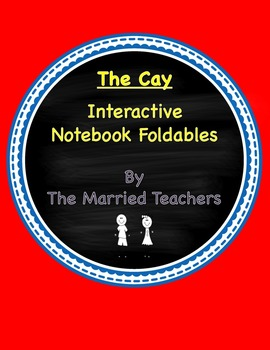 The Cay Interactive Literature & Grammar Notebook Foldables