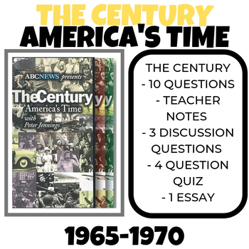 The Century: America's Time - 1965-1970 Unpinned