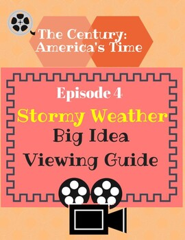 The Century: America's Time Episode 4 Stormy Weather Viewi