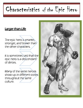 The Characteristics of an Epic Hero -- Beowulf, The Odysse