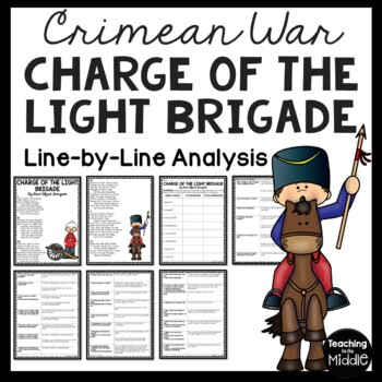 The Charge of the Light Brigade Poem- Reading Guide Questi