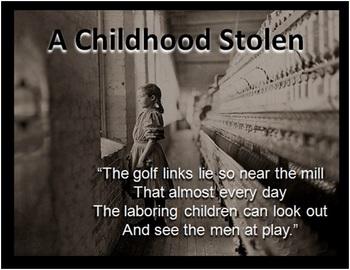 The Child Labor Movement