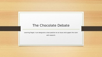 The Chocolate Debate