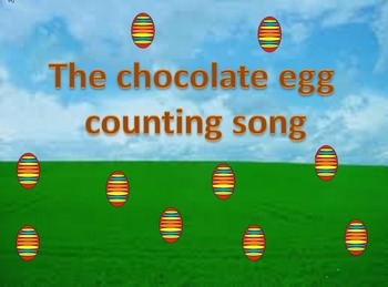 The Chocolate Egg Counting song for young children