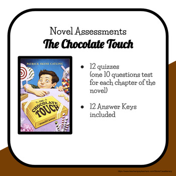 The Chocolate Touch Chapter Quizzes