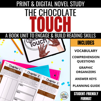 The Chocolate Touch Foldable Novel Study Unit