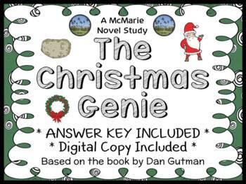 The Christmas Genie (Dan Gutman) Novel Study / Reading Com