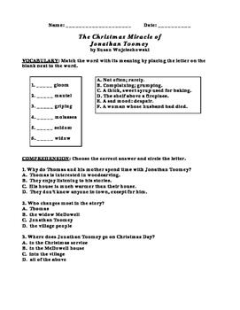 The Christmas Miracle of Jonathan Toomey CCG