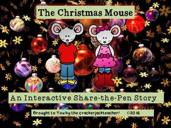 The Christmas Mouse Ready-to-Write Story FREEBIE