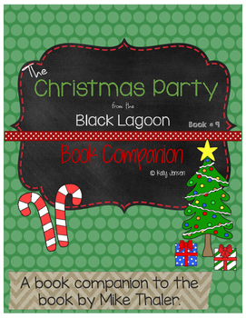 The Christmas Party from the Black Lagoon Book Companion