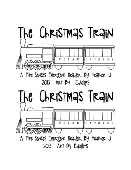 The Christmas Train: A 5 Senses Book w/ Beg. Sound Sheet f