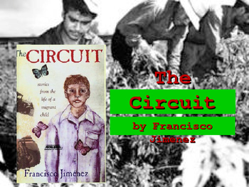 "The Circuit, by Francisco Jimenez ""Interactive Powerpoint"""