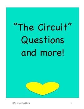 Text Dependent Questions The Circuit  by Francisco Jiménez