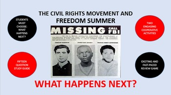 The Civil Rights Movement and Freedom Summer:  What Happens Next?