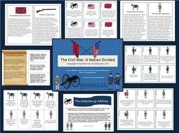 Civil War Language Comprehension and Expression Unit