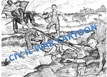 The Civil War: The Story Inside the Cartoon