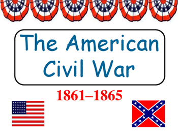 The Civil War and Major Battles Power Point
