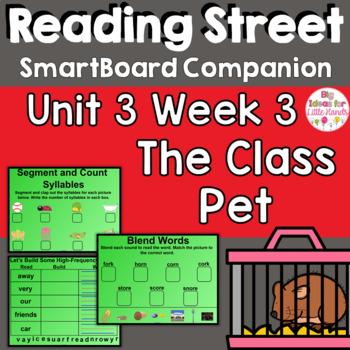 The Class Pet SmartBoard Companion Common Core 1st Grade