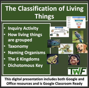 The Classification of Living Things - Biology Lesson and W