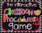 The Classroom Procedures Game-Make Teaching Classroom Proc