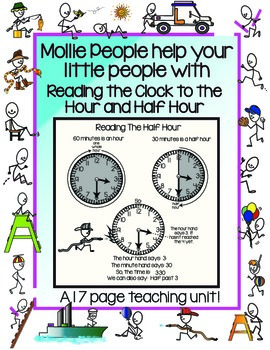 The Clock:  The Hour and Half Hour