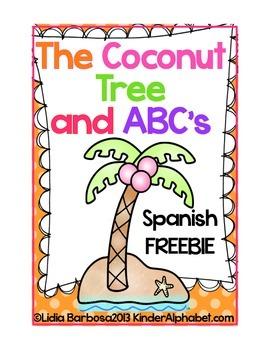 The Coconut Tree and ABC's - Spanish Freebie