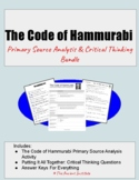 The Code of Hammurabi: You Be the Judge! Activity Bundle f