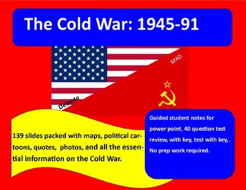 The Cold War: 1945-91