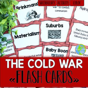 Cold War Flash Cards