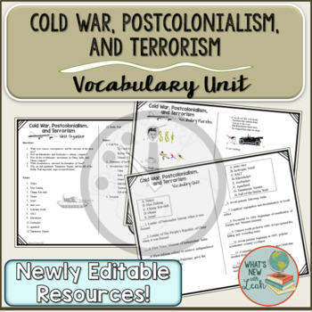 The Cold War, Post-Colonialism, and Terrorism