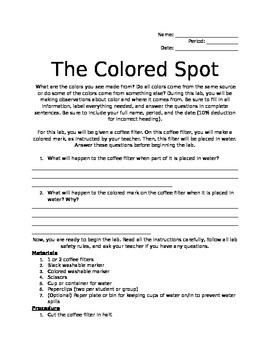 The Colored Spot Lab