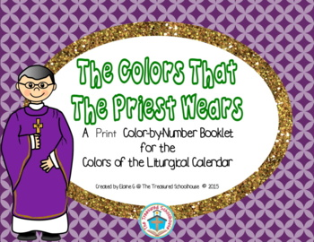 The Colors That the Priest Wears Color-by-Number Booklet in Print