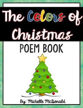 The Colors of Christmas Poem Book FREEBIE