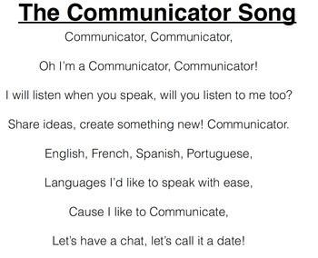 Communicator Song (Instrumental)